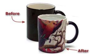11 oz. Colour Changing Polyetch® Mug