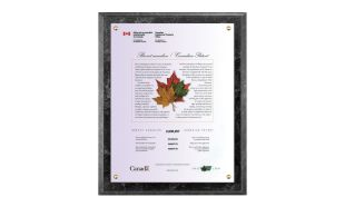 "10 1/2 x 13"" Black Marble Laminate Certificate Holder"