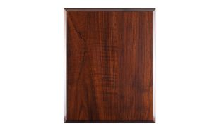 "7 X 9"" High Gloss Cherrywood Laminate Plaque"