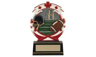 "5 1/2"" Football Icon Stand-Up Sculpture"