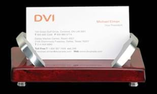 "4 1/2"" x 3 1/4"" x 2"" Business Card Holder"