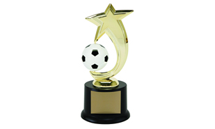 Soccer Spinning Achievement Award