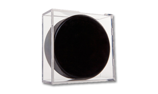 Square Hockey Puck Display Case