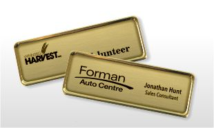 Awards Canada: Name Tags: Badges with Metal Frames: 3