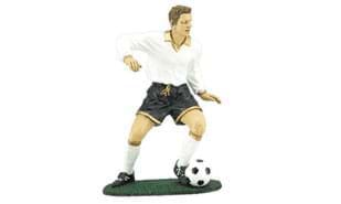 "7"" Male Action Soccer Sculpture"