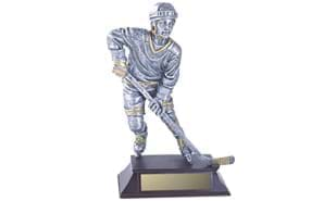 "16"" Male Hockey Sculpture"