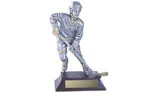 "10"" Male Hockey Sculpture"