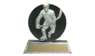 Small Hockey Puck Sculpture