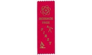 Stock Science Fair First Place Ribbon