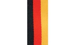 Black, Red & Gold Neck Ribbon