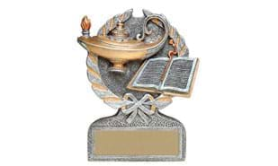 "5"" Lamp of Knowledge Stand-up Sculpture"