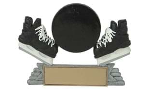 "4"" Hockey Sport Icon Sculpture"