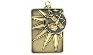 Golf Spinner Dog Tag